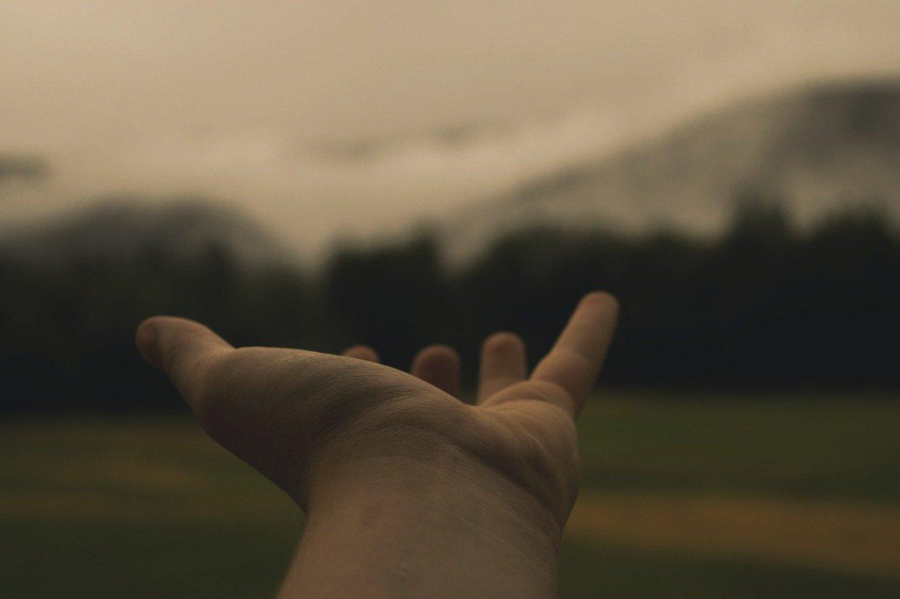 hand, hold, reach